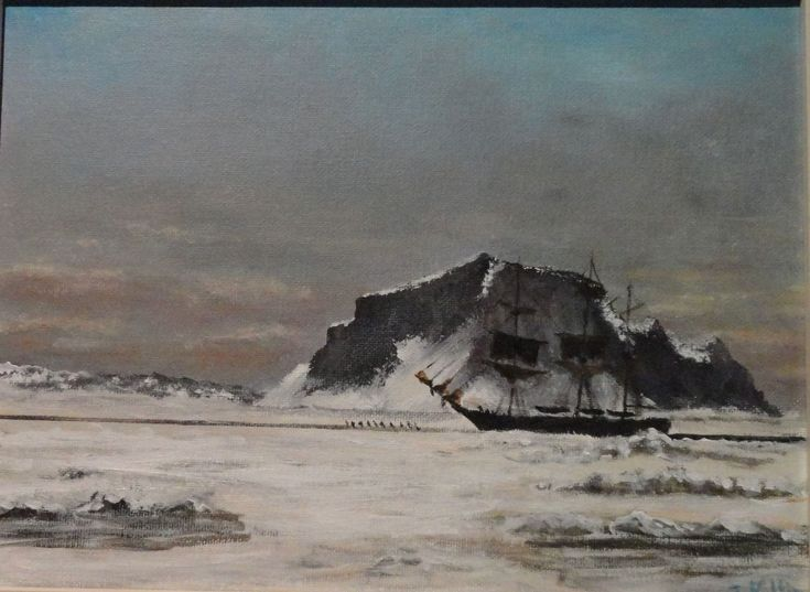 northwest passage marine art briankillin arctic exploration