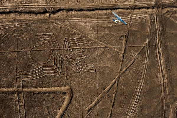 "The spider is one of many so-called Nasca lines (or Nazca lines), vast artworks that date from 500 B.C. to A.D. 500 and cover a ""canvas"" of more than 173 square miles (450 square kilometers)."