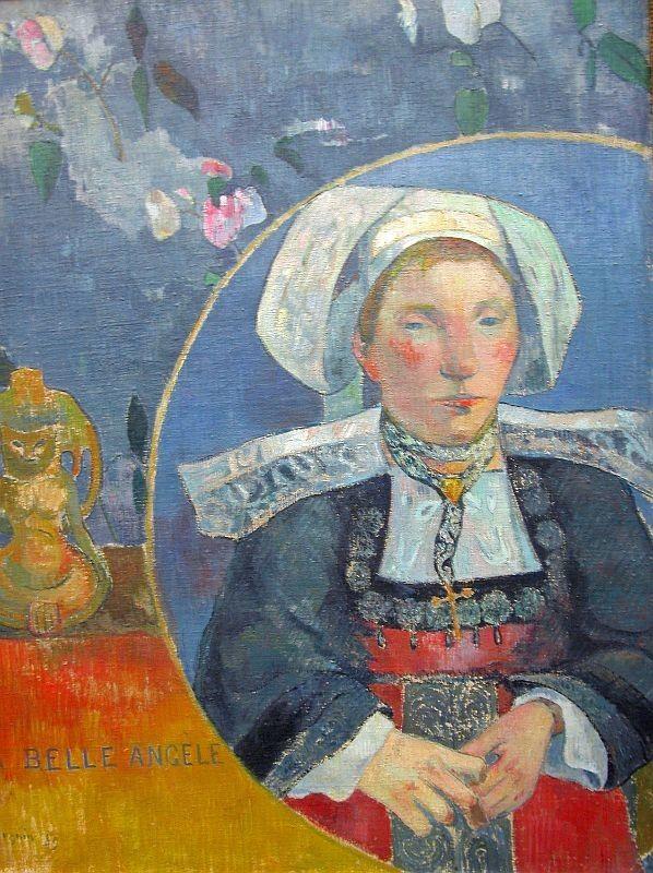 Paul Gauguin, La Belle Angele, 1889, Musée d'Orsay