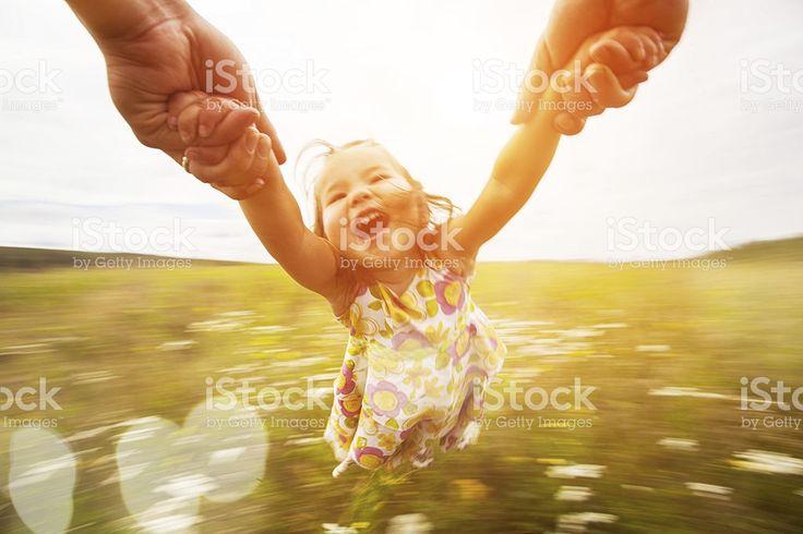 spinning-Mädchen – lizenzfreie Stock-Fotografie