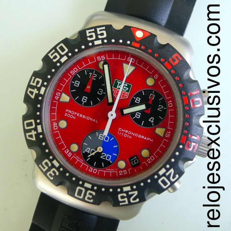 TAG Heuer F1 Professional Chronograph CA1215