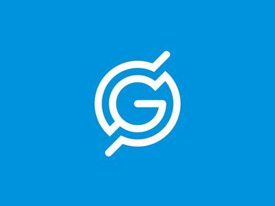 GS monogram / globe / scanning radar logo design symbol by Alex Tass #Design Popular #Dribbble #shots