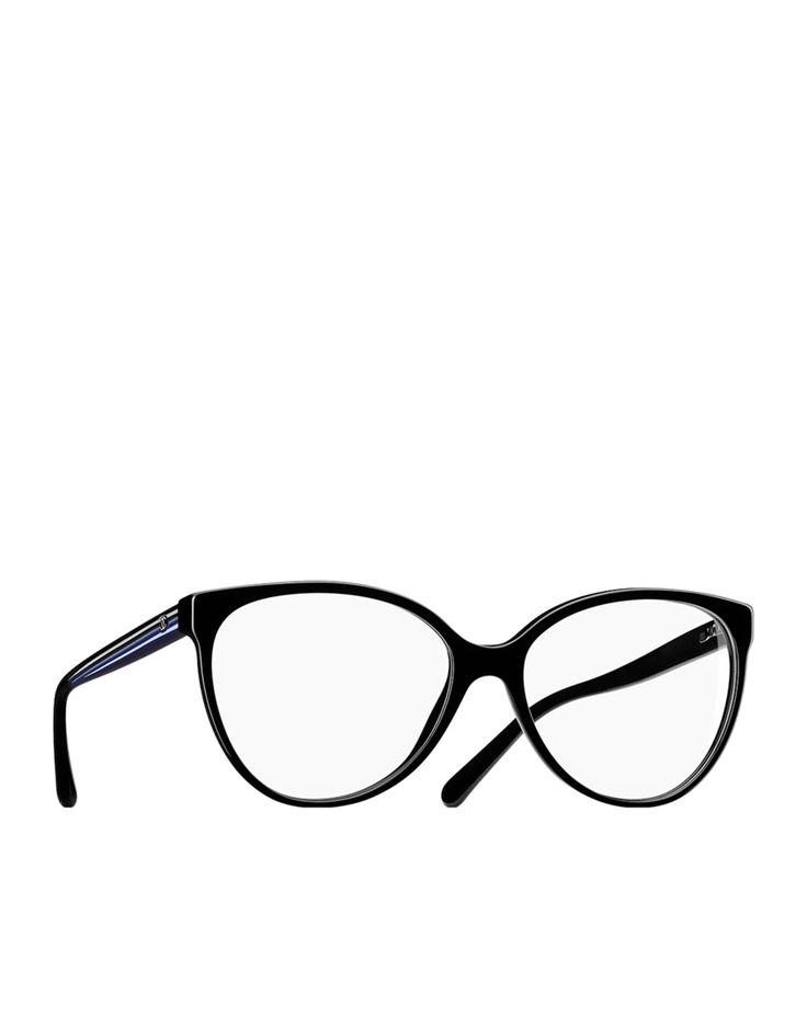 Oversized oval acetate eyeglasses... - CHANEL (new eyeglasses shopping)