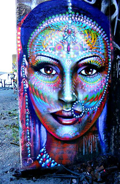 Magnificent Exotic Street Art...  All the colors of the world