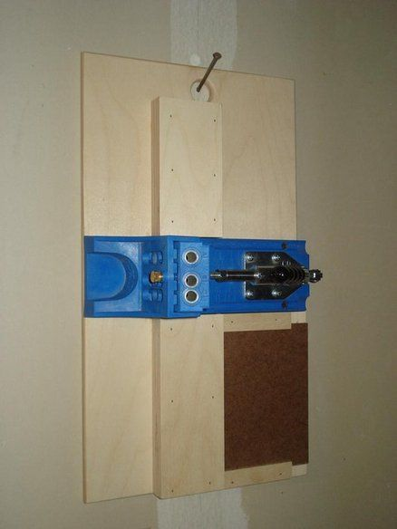 Kreg Pocket Hole Jig/ Storage - by cFurnitureGuy @ LumberJocks.com ~ woodworking community