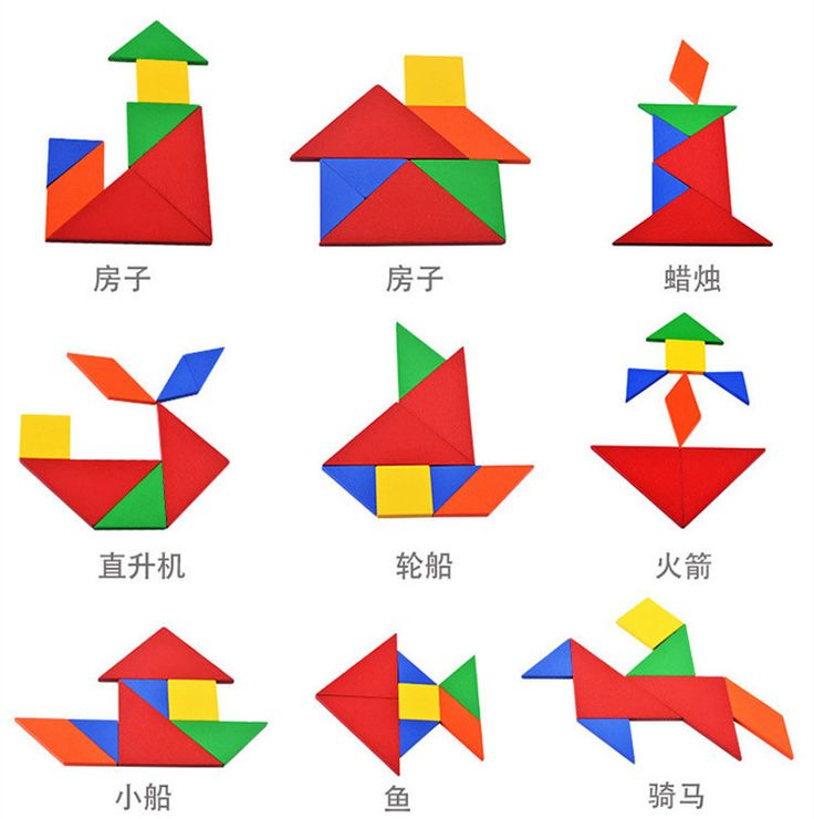 Деревянные детские Игрушки Tangram Логические головоломки игрушки Тетрис игры Дошкольное magination интеллектуальной Обучающие игрушки подарок для детей купить на AliExpress