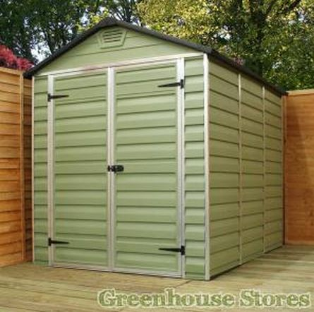 Best 25 plastic sheds ideas on pinterest garden shed for Terrace shed ideas