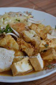 Diah Didi's Kitchen: Tahu Kupat Bumbu Dadakan