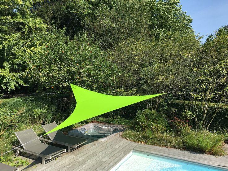 Voile d'ombrage triangulaire - Marie Claire Maison