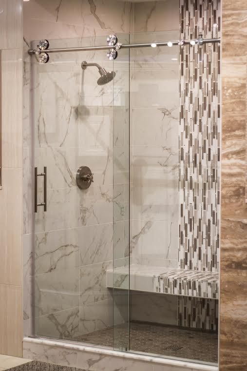 17 Best images about Frameless Shower Doors on Pinterest | Curved ...