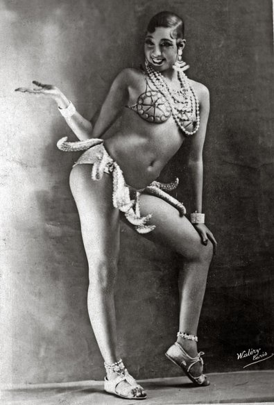 Josephine Baker She was way ahead of her time! And she Rocked it!