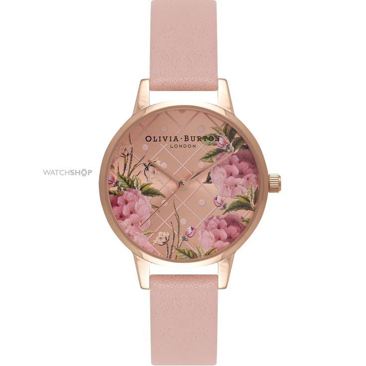 Ladies Olivia Burton Enchanted Garden Floral Watch OB15EG43