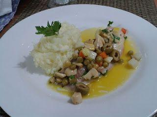 San Peter com legumes e molho de maracujá   Receita Ricardo Guerra