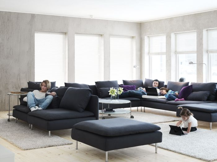 SÖDERHAMN- a sofa designed by you. A modular sofa that fits the way ...