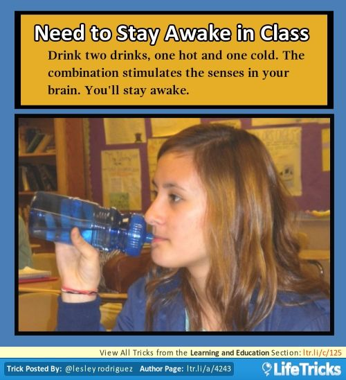 stay alert on class