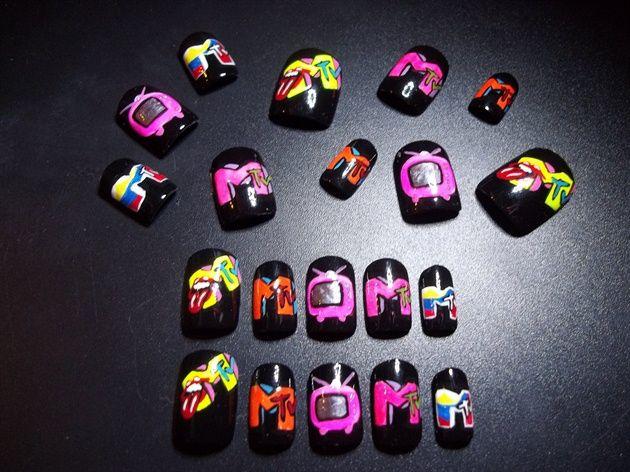 MTV  #nails