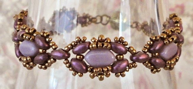 Linda's Crafty Inspirations: Free Beading Pattern: Mary Ann Bracelet