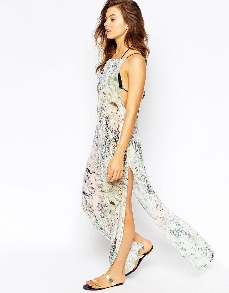 Пляжное платье Ted Baker / Декор спины / Своими руками - выкройки, переделка одежды, декор интерьера своими руками - от ВТОРАЯ УЛИЦА