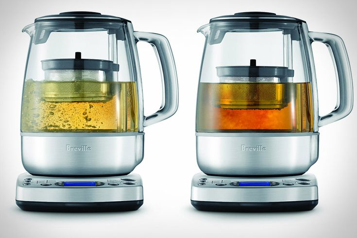 Breville Tea Brewer with a fully automated tea basket that moves your leaves into the water and gently agitates them to infuse your tea. - $250