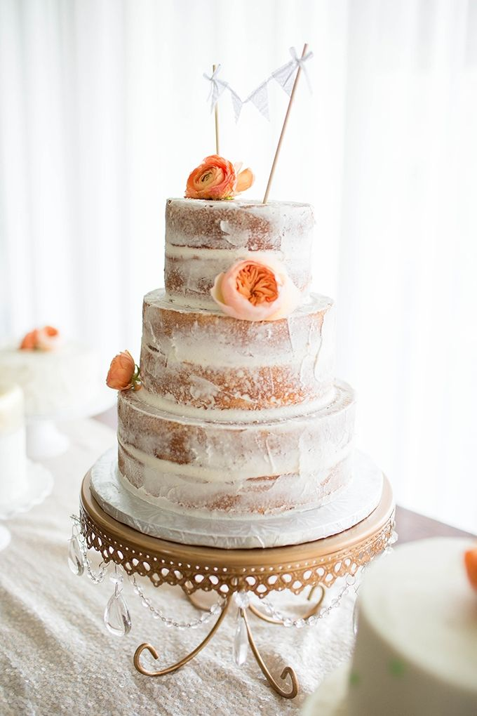 392 Best Naked Rustic Wedding Cakes Images On Pinterest