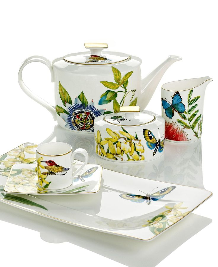 402 best botanical china images on pinterest china - Villeroy and boch ...