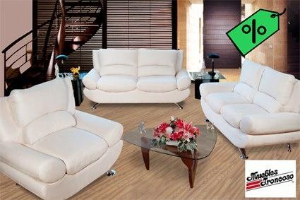 #Sala Blanca #Troncoso Muebles