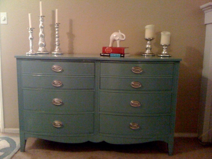 redone dresser similar to mine.  (big knobs to cover)