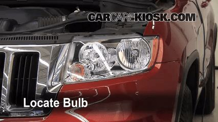 Awesome 2011 Jeep Grand Cherokee Headlight Bulb
