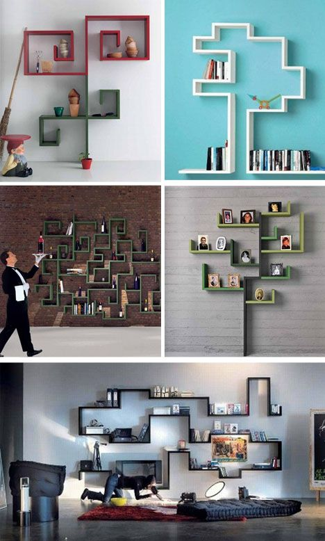 Cool Bookcase Ideas best 25+ cool shelves ideas on pinterest | corner wall shelves