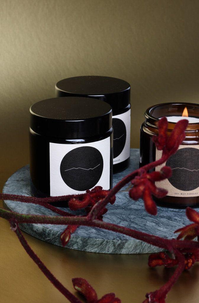 Stilvolle Weihnachtsdeko mit Sojakerzen von mw candles