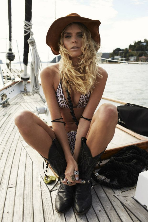 Your first look at new season swimwear from Anna & Boy, One Teaspoon, Tigerlily and We Are Handsome. Bohemian feeling.
