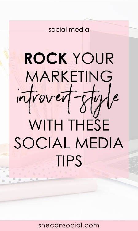 Marketing is essential for running a successful business, but it doesn't have to be scary! Here are some tips from a fellow introvert on marketing yourself. | She Can Social