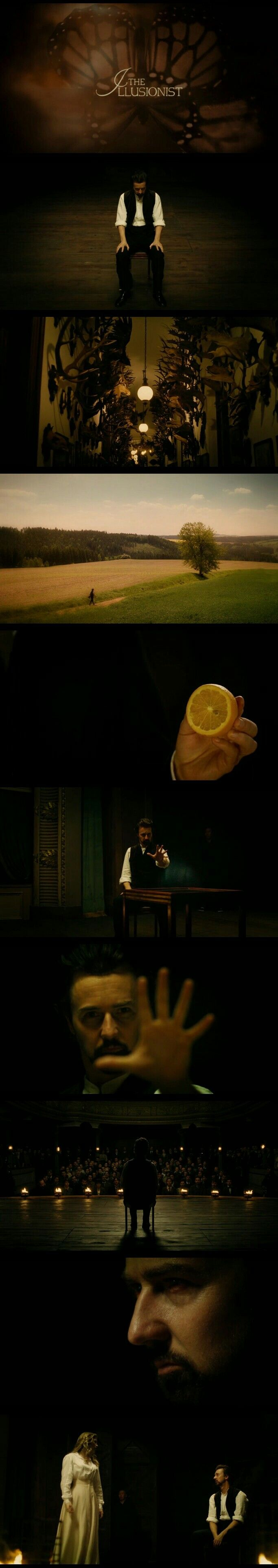 "Edward Norton as ""Eisenheim The Illusionist"" in The Illusionist(2006)"