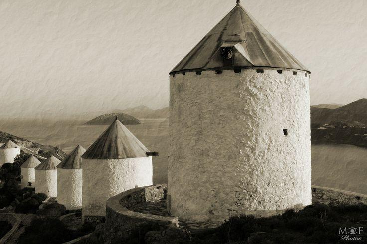 Leros windmills by Manos Maleas on 500px