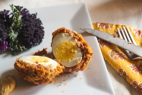 Chorizo Scotch Eggs for #Sundaysupper by @Susan | Girl In The Little ...