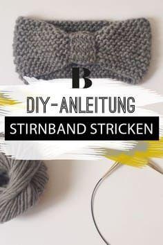 Stirnband stricken – so einfach geht's