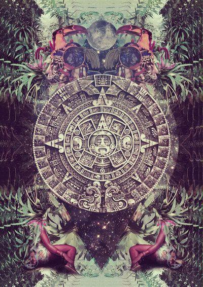 mayan calendar / Sacred Geometry <3