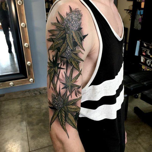 weed tattoo19