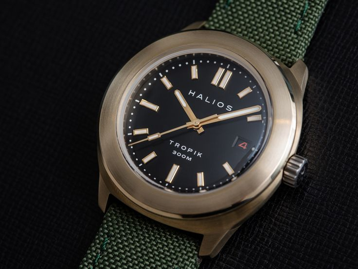 Halios Tropik B. Bronze, sterile bezel, currently available for $700