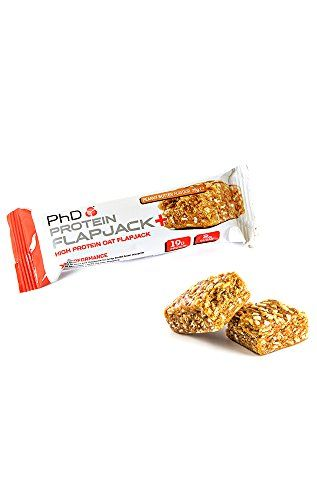 The Product PhD Nutrition 75g Peanut Butter Protein Flapjack+ Box Bars – Pack of 12  Can Be Found At - http://vitamins-minerals-supplements.co.uk/product/phd-nutrition-75g-peanut-butter-protein-flapjack-box-bars-pack-of-12/