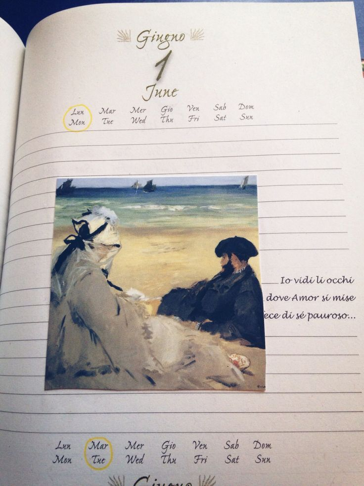 June diary illustrations