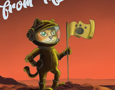 """Check out new work on my @Behance portfolio: """"Greetings from Mars"""" http://be.net/gallery/62302855/Greetings-from-Mars"""
