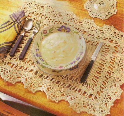 Blog de croche :http://croche.artblog.com.br, JOGO AMERICANO