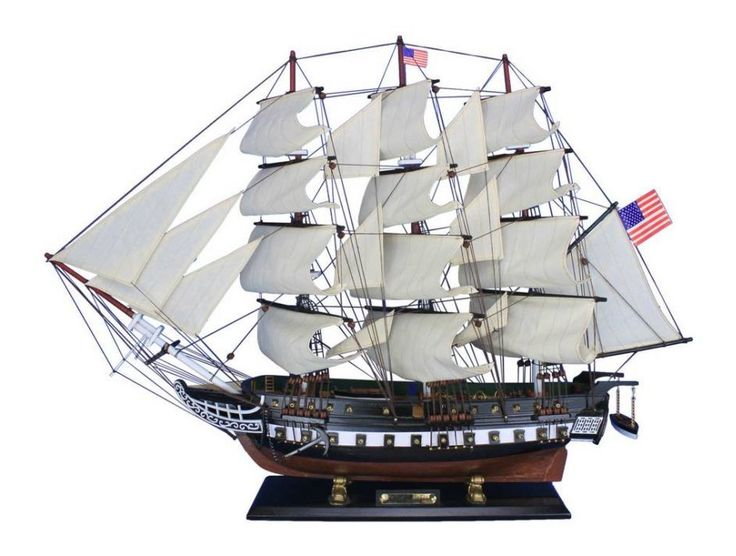 "30"" USS Constitution Tall Model Ship"