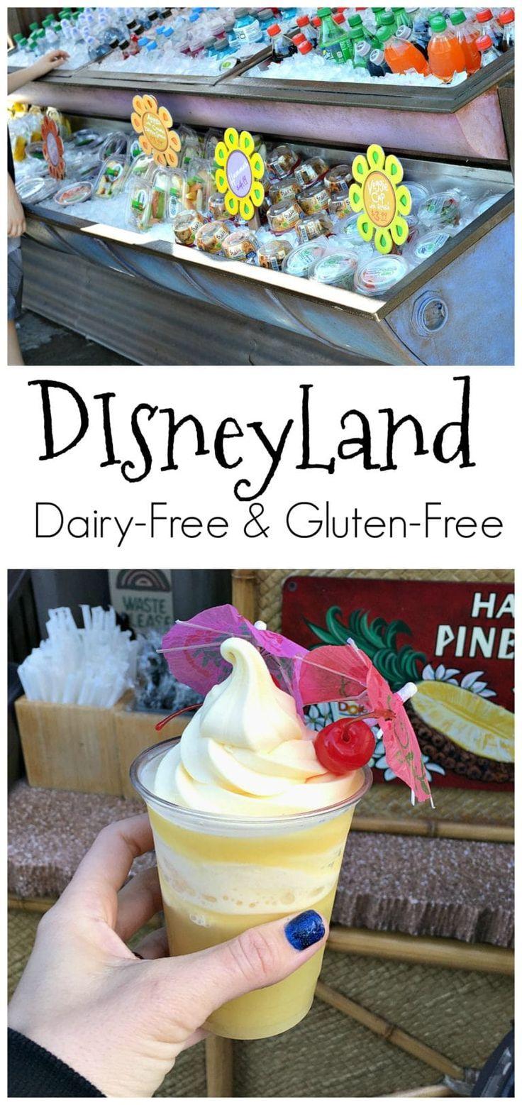 Es ist eigentlich sehr einfach und lecker, Disneyland ohne Milchprodukte und ohne Gluten zu machen! Y …