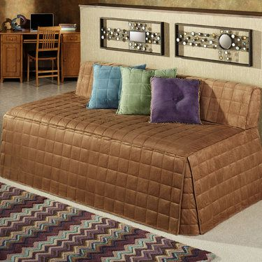 Microfiber Suede Like Camden Hollywood Daybed Cover I