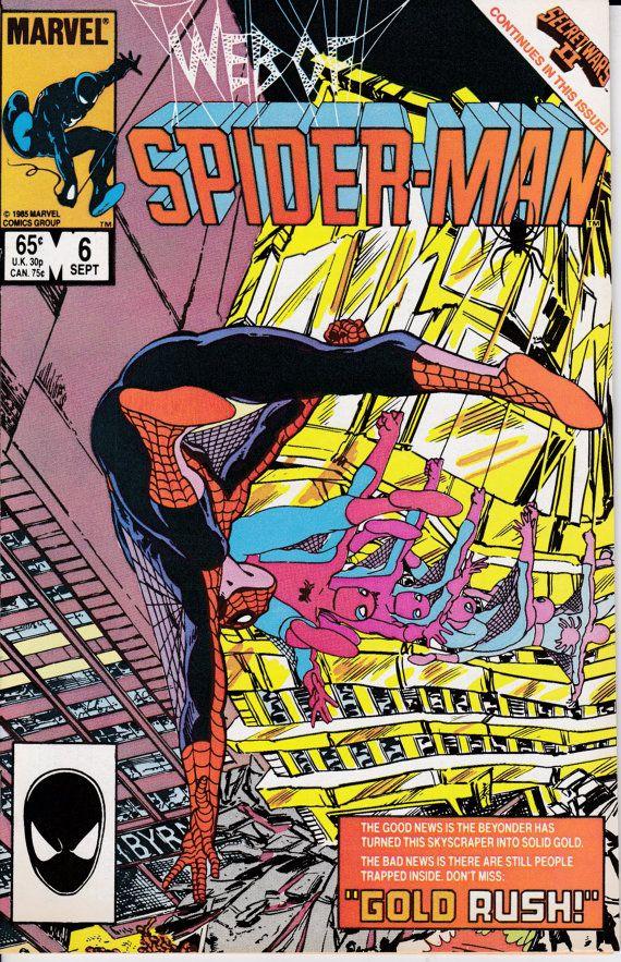 Web of Spider-Man 6 September 1985 Issue  Marvel Comics