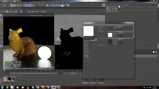 Learn everything about the octane plugin that you need to know. Lights, SSS Materials, Metal Shaders, Glas and much much more!  In Part II i play a bit around with Octane and show you what you can do with it!  For more free or premium tutorials check my website: www.curse-studio.com  Free HDRI: hdrlabs.com/sibl/archive.html (Old Industrie Hall is what im using in this tutorial)  Cheers Dominik