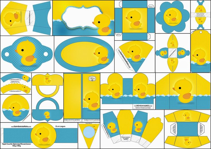 Rubber duckies: Kit Free Printable Party. Click on link for get free printables. http://esp-ohmybabyshower.blogspot.ca/2014/10/patitos-de-goma-kit-para-fiestas-para.html