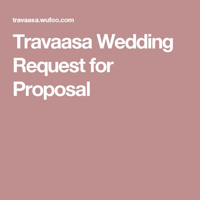 The 25+ best Request for proposal ideas on Pinterest Auction - events proposal sample